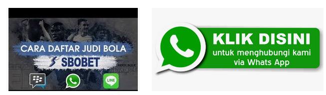 Bikin akun member judi bola sbobet melalui whatsapp