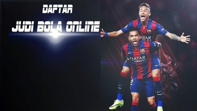 Daftar judi bola online sbobet paling mudah dan cepat